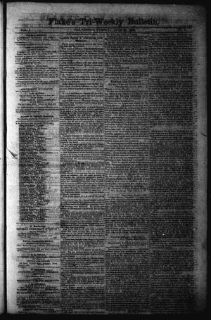 Flake's Tri-Weekly Bulletin. (Galveston, Tex.), Vol. 1, No. 6, Ed. 1 Tuesday, June 20, 1865
