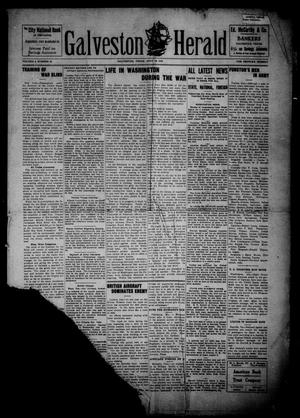 Primary view of object titled 'Galveston Herald (Galveston, Tex.), Vol. 2, No. 27, Ed. 1 Thursday, July 18, 1918'.