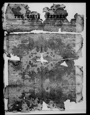 Primary view of object titled 'The Goliad Express (Goliad, Tex.), Vol. 11, No. 18, Ed. 1 Wednesday, September 17, 1856'.