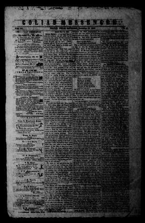 Primary view of Goliad Messenger (Goliad, Tex.), Vol. 6, No. 31, Ed. 1 Saturday, November 12, 1864