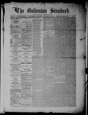 Primary view of object titled 'The Galveston Standard. (Galveston, Tex.), Vol. 1, No. 62, Ed. 1 Thursday, October 31, 1872'.