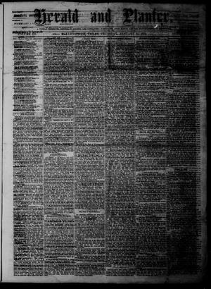 Herald and Planter (Hallettsville, Tex.), Vol. 3, No. 26, Ed. 1 Thursday, January 21, 1875