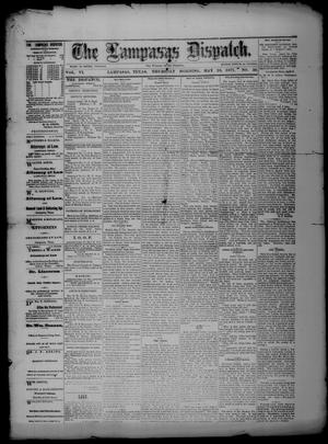 Primary view of object titled 'The Lampasas Dispatch (Lampasas, Tex.), Vol. 6, No. 50, Ed. 1 Thursday, May 10, 1877'.