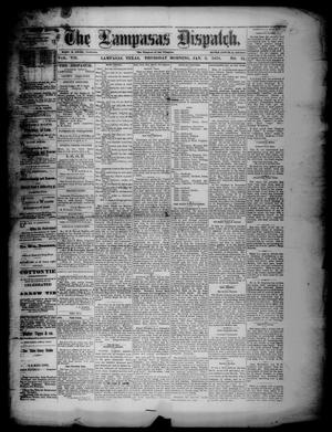 Primary view of object titled 'The Lampasas Dispatch (Lampasas, Tex.), Vol. 7, No. 31, Ed. 1 Thursday, January 3, 1878'.