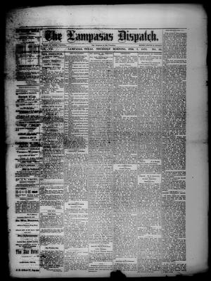 Primary view of object titled 'The Lampasas Dispatch (Lampasas, Tex.), Vol. 7, No. 36, Ed. 1 Thursday, February 7, 1878'.
