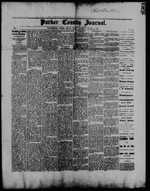 Primary view of object titled 'Parker County Journal. (Weatherford, Tex.), Vol. 1, No. 45, Ed. 1 Thursday, August 31, 1882'.