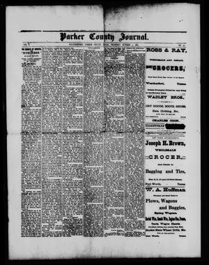 Primary view of object titled 'Parker County Journal. (Weatherford, Tex.), Vol. 1, No. 50, Ed. 1 Thursday, October 5, 1882'.