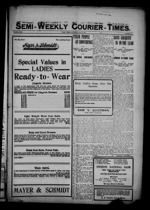 Semi-Weekly Courier-Times. (Tyler, Tex.), Vol. 27, No. 53, Ed. 1 Saturday, July 2, 1910