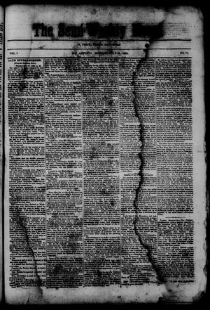 Primary view of object titled 'The Semi-Weekly News. (San Antonio, Tex.), Vol. 1, No. 71, Ed. 1 Monday, July 21, 1862'.