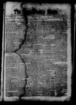 Primary view of object titled 'The Semi-Weekly News. (San Antonio, Tex.), Vol. 1, No. 91, Ed. 1 Thursday, October 2, 1862'.