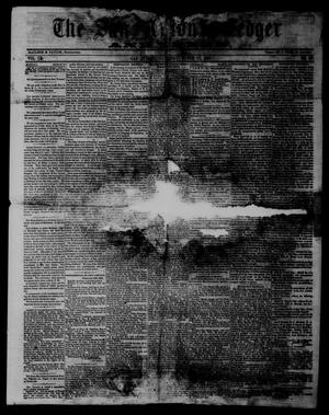 Primary view of object titled 'The San Antonio Ledger and Texan. (San Antonio, Tex.), Vol. 9, No. 37, Ed. 1 Saturday, March 17, 1860'.