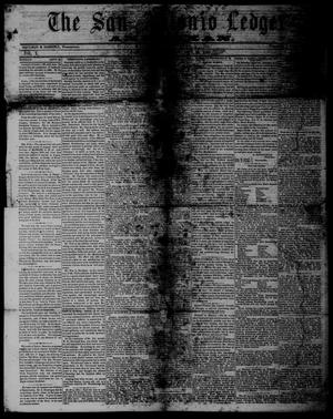 Primary view of object titled 'The San Antonio Ledger and Texan. (San Antonio, Tex.), Vol. 10, No. 13, Ed. 1 Saturday, September 29, 1860'.