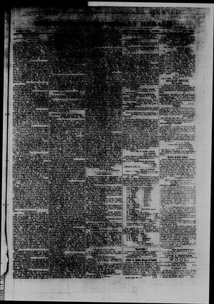 Primary view of object titled 'The San Antonio Weekly Herald. (San Antonio, Tex.), Vol. 9, No. 26, Ed. 1 Saturday, September 12, 1863'.