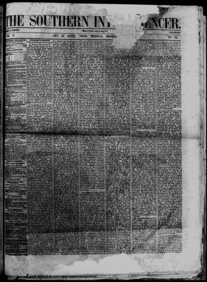 Primary view of object titled 'The Southern Intelligencer. (Austin, Tex.), Vol. 2, No. 24, Ed. 1 Thursday, December 13, 1866'.