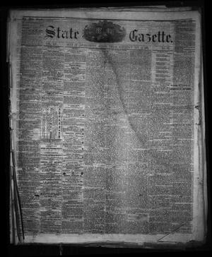 Primary view of object titled 'State Gazette. (Austin, Tex.), Vol. 12, No. 23, Ed. 1 Saturday, January 12, 1861'.