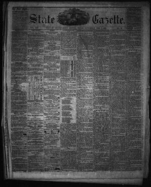 Primary view of object titled 'State Gazette. (Austin, Tex.), Vol. 12, No. 26, Ed. 1 Saturday, February 2, 1861'.