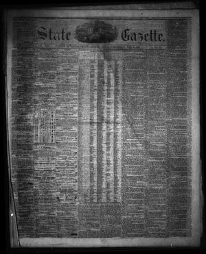 Primary view of object titled 'State Gazette. (Austin, Tex.), Vol. 12, No. 27, Ed. 1 Saturday, February 9, 1861'.