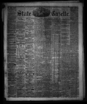 Primary view of object titled 'State Gazette. (Austin, Tex.), Vol. 12, No. 31, Ed. 1 Saturday, March 9, 1861'.