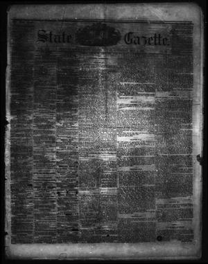 Primary view of object titled 'State Gazette. (Austin, Tex.), Vol. 12, No. 39, Ed. 1 Saturday, May 4, 1861'.