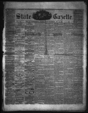 Primary view of object titled 'State Gazette. (Austin, Tex.), Vol. 12, No. 41, Ed. 1 Saturday, May 18, 1861'.