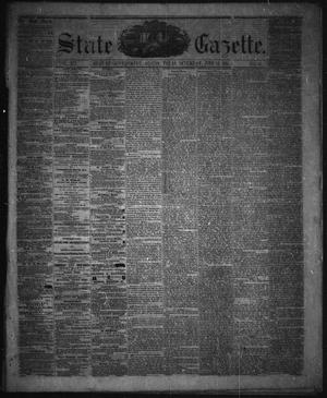 Primary view of object titled 'State Gazette. (Austin, Tex.), Vol. 12, No. 45, Ed. 1 Saturday, June 15, 1861'.