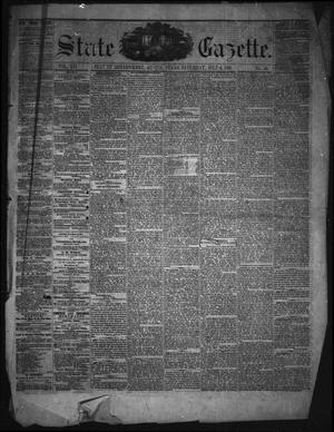 State Gazette. (Austin, Tex.), Vol. 12, No. 48, Ed. 1 Saturday, July 6, 1861