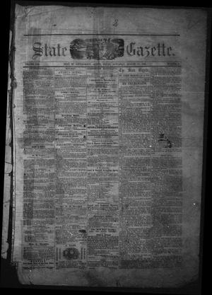 Primary view of object titled 'Texas State Gazette. (Austin, Tex.), Vol. 13, No. 2, Ed. 1 Saturday, August 17, 1861'.