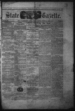 Primary view of object titled 'Texas State Gazette. (Austin, Tex.), Vol. 13, No. 3, Ed. 1 Saturday, August 24, 1861'.