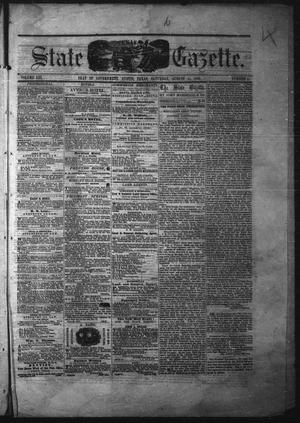 Primary view of Texas State Gazette. (Austin, Tex.), Vol. 13, No. 4, Ed. 1 Saturday, August 31, 1861