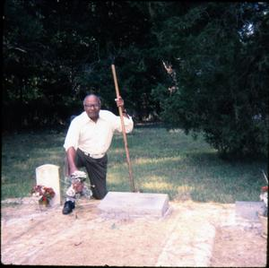 Primary view of object titled '[Cemetery Cleanup]'.