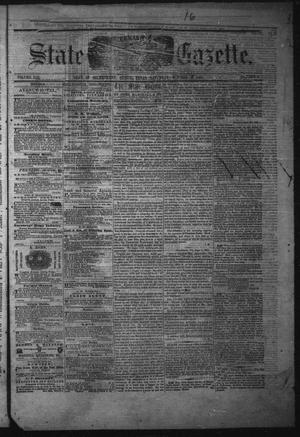 Primary view of object titled 'Texas State Gazette. (Austin, Tex.), Vol. 13, No. 9, Ed. 1 Saturday, October 5, 1861'.