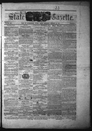Texas State Gazette. (Austin, Tex.), Vol. 13, No. 12, Ed. 1 Saturday, October 26, 1861