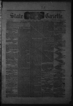 Primary view of object titled 'Texas State Gazette. (Austin, Tex.), Vol. 13, No. 18, Ed. 1 Saturday, December 7, 1861'.
