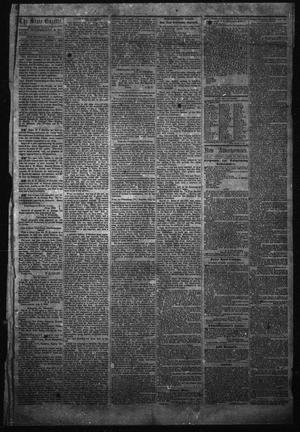 Primary view of object titled 'The State Gazette. (Austin, Tex.), Vol. 14, No. 1, Ed. 1 Thursday, August 7, 1862'.