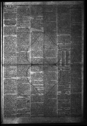 Primary view of object titled 'The State Gazette. (Austin, Tex.), Vol. 14, No. 9, Ed. 1 Wednesday, October 1, 1862'.