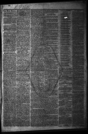 Primary view of object titled 'The State Gazette. (Austin, Tex.), Vol. 14, No. 20, Ed. 1 Wednesday, December 17, 1862'.