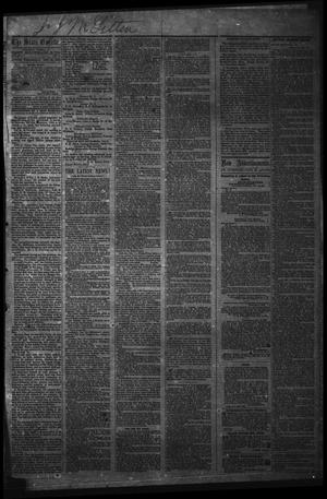 Primary view of object titled 'The State Gazette. (Austin, Tex.), Vol. 14, No. 21, Ed. 1 Wednesday, December 24, 1862'.