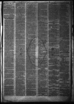 Primary view of object titled 'The State Gazette. (Austin, Tex.), Vol. 14, No. 23, Ed. 1 Wednesday, January 7, 1863'.