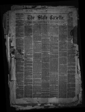 Primary view of object titled 'The State Gazette. (Austin, Tex.), Vol. 14, No. 48, Ed. 1 Wednesday, July 1, 1863'.