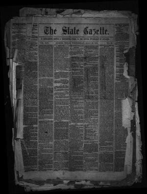 Primary view of object titled 'The State Gazette. (Austin, Tex.), Vol. 14, No. 50, Ed. 1 Wednesday, July 15, 1863'.