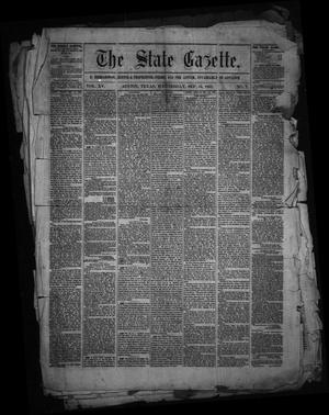 Primary view of object titled 'The State Gazette. (Austin, Tex.), Vol. 15, No. 7, Ed. 1 Wednesday, September 16, 1863'.