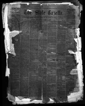 Primary view of object titled 'The State Gazette. (Austin, Tex.), Vol. 15, No. 10, Ed. 1 Wednesday, October 7, 1863'.