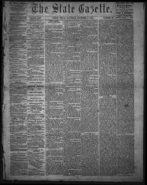 Primary view of object titled 'The State Gazette. (Austin, Tex.), Vol. 17, No. 13, Ed. 1 Saturday, December 2, 1865'.