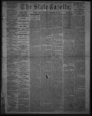 Primary view of object titled 'The State Gazette. (Austin, Tex.), Vol. 17, No. 16, Ed. 1 Saturday, December 23, 1865'.