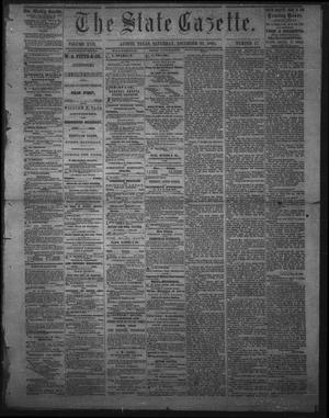 Primary view of object titled 'The State Gazette. (Austin, Tex.), Vol. 17, No. 17, Ed. 1 Saturday, December 30, 1865'.