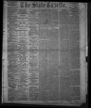 The State Gazette. (Austin, Tex.), Vol. 17, No. 20, Ed. 1 Saturday, January 20, 1866