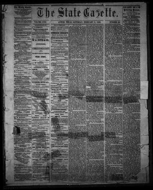 Primary view of object titled 'The State Gazette. (Austin, Tex.), Vol. 17, No. 22, Ed. 1 Saturday, February 3, 1866'.