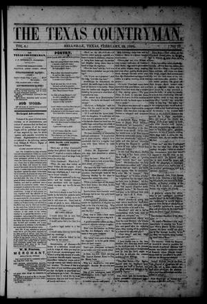 The Texas Countryman. (Bellville, Tex.), Vol. 6, No. 7, Ed. 1 Friday, February 23, 1866