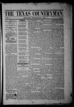The Texas Countryman. (Bellville, Tex.), Vol. 6, No. 9, Ed. 1 Friday, March 9, 1866