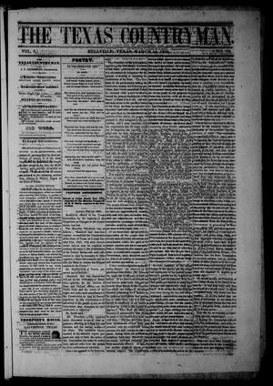 The Texas Countryman. (Bellville, Tex.), Vol. 6, No. 10, Ed. 1 Friday, March 16, 1866